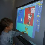 Interactive white board activity
