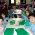 Workshops: the Green Group honors its colour!
