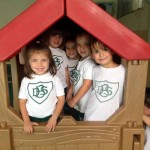 K4 Giraffes-our little house in the playground
