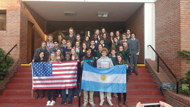 Providence Day School is currently visiting Argentina and yesterday a  delegation of 18 students accompanied by Katie Kirkland (Associate Director  of Global ...